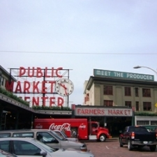 Pike Place Market in Seattle Washington, USA